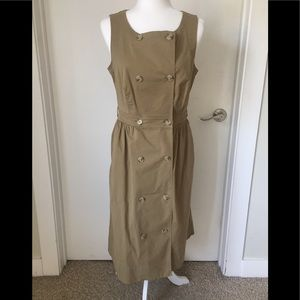 J. Crew Garment Dyed Trench Dress